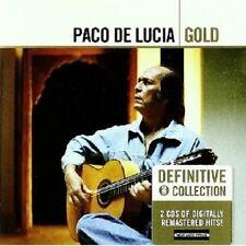 "PACO DE LUCIA ""GOLD"" 2 CD NEW+"