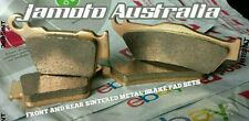 KTM 530 EXC FRONT +  REAR BRAKE PADS SET SINTERED METAL KTM530 530EXC KTM530EXC