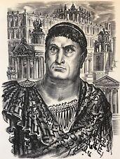 Othon Imperator Rome par Albert DECARIS 1901-1988 Italia Italie Empereur Romain
