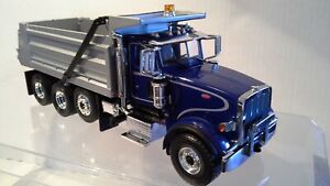 Peterbilt 367 4 axle Dump Truck by  First Gear  - 1/34 scale  -  Diecast  New