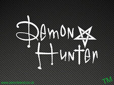 Demon Hunter Car 4x4 Sticker Vinyl Decal. Supernatural, Buffy
