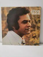 "Johnny Mathis: Tenderly 12"" Vinyl LP 1977 Excellent Condition"