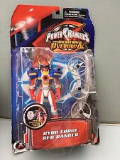 Power rangers Operation overdrive Red Gyro force ranger NEW SEALED