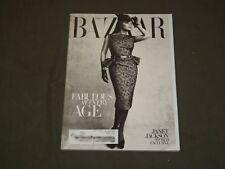 2009 OCTOBER HARPER'S BAZAAR MAGAZINE - JANET JACKSON COVER - B 3632