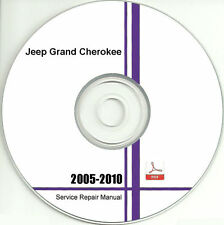 2005 - 2010 Jeep Grand Cherokee Service Repair Manual CD