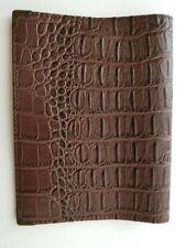 Book Cover Faux leatherCrocodile 11