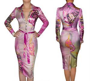 SALE! Gorgeous!!! Roberto Cavalli ITALY  dress ITAl size 40-42