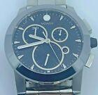 MOVADO Vizio Black Carbon Fiber Stainless Steel Men's Watch Item No. 0606551