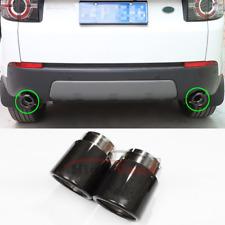 Carbon Fiber Exhaust Muffler Tip Pipe For Land Rover Range Rover Sport 2014-2017
