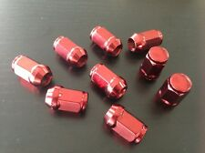 12x1.25 Wheel lug nut Acorn Bulge Set of 20 lugnuts  red Scion Subaru Suzuki