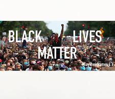 BLM Black Lives Matter Bumper Sticker