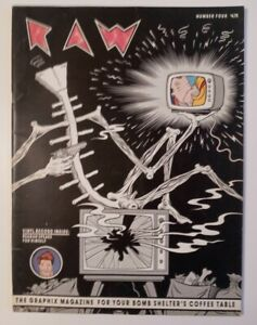 RAW Magazines #4 and #5 VG/F MAUS Chapters 3 & 4 Spiegelman CHARLES BURNS Beyer