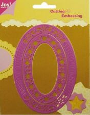 Joy Crafts Die Cutting Embossing Stencils Oval Frames 6002/0029 2pcs
