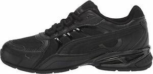 Puma Respin Puma Black Men's Athletic Run Train Sneakers 37489104