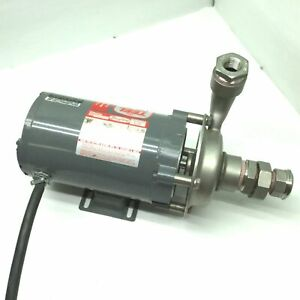 "Dayton/Teel 1P800B 304 SS Centrifugal Pump 1 HP 1 Phase 115/230 VAC 1 1/2"" NPT"