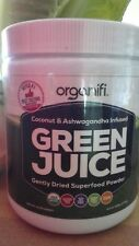 Super Sale  One Organifi GREEN JUICE Super Food Pow 9.5 Oz (Out of Gold Samples)