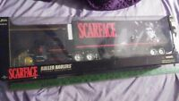 Vintage Scarface tractor trailer 1:32 diecast ballers haulers new in box