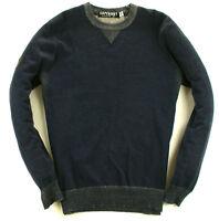 Superdry Pullover Blau Grau Gr: XL