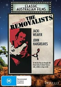 The Removalists - Jacki Weaver - John Hargreaves - New & Sealed All Region DVD.
