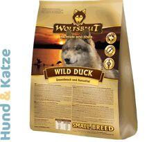 2 kg WOLFSBLUT HUNDEFUTTER WILD DUCK SMALL BREED MIT ENTE & KARTOFFELN
