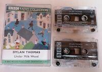 AUDIO BOOK - BBC Radio Collection Dylan Thomas Under Milk Wood X2 Cassettes