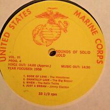 RADIO SHOW: USMC GOLD III 4/5 ROY ORBISON, JIMMY CLANTON (2), DION, BIG BOPPER