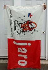 New listing Jeux du Quebec Hiver Winter 1974 St George de Beauce Flag / Drapeau 3 x 5 feet
