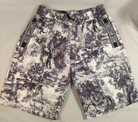 CHRISTIAN DIOR -  NEW NO TAGS Men's SWIM TRUNKS Shorts Bathing Suit Size L