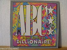 ★★ LP - ABC - How To Be A Zillionaire - OIS (Lyrics) - Mercury GER 1985