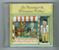 LA BOUTIQUE DE MONSIEUR ROBERT - MARIE-CLAUDE CLERVAL - 2012 - NEUF NEW NEU