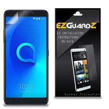2X EZguardz Clear Screen Protector Shield HD 2X For Alcatel 3V
