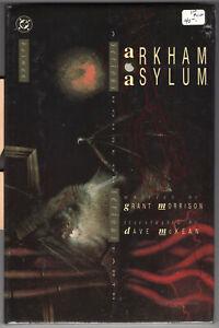 Batman Arkham Asylum HC, Grant Morrison, Dave McKean, never read