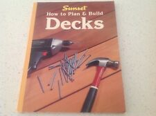 DIY BOOK, DECKS, PLAN AND BUILD DECKS, COMPLETE  FREE POST, VGC ,DECKING ,HOUSE