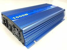 2000W Grid Tie Solar Inverter AC110V DC10.8-30V Converter With Cable 1000W*2PCS