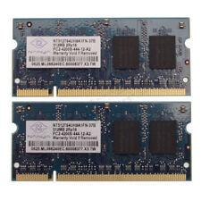1GB (2 x 512MB) PC2-4200 533MHz Laptop 200 Pin RAM • Guaranteed