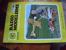 $$ Revue Radio Modelisme N°95 le Vicomte  émetteur récepteur  hélicoptère  Terry