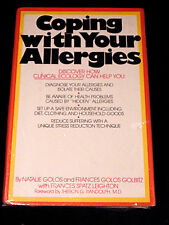 Coping with Your Allergies Natalie Golos 1979 Book Health Diet Fitness Disease