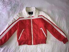 Vintage Men's White Stag Action Sports Size Small Ski Jacket Red – White