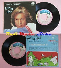 LP 45 7'PETER GRIFFIN Step by step Devil's reception 1981 italy BUBBLE cd mc*dvd