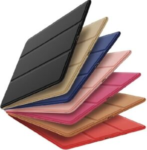 Leather Magnetic Smart Case Cover For iPad Air 2 3 9.7 10.2 10.9 Pro11 10.5 Mini