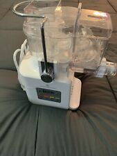 Cook's Essentials Pasta & Sausage Maker. Slightly Used Condition. White.