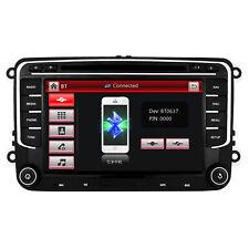 "7"" VW PASSAT/SKODA T5 Golf MK5 MK6 Jetta Car Stereo Radio DVD Sat Nav BT GPS UK"