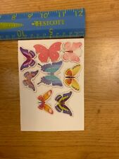 8 Butterfly Card Toppers