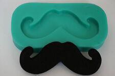 Moule en silicone sugarcraft gâteau décoration fimo clay moustache moule artisanat (3136)