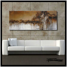 PAINTING CANVAS WALL ART ABSTRACT LARGE 60x24in US artist ELOISExxx