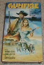 Gunfire (1992, VHS) Oates, Agutter,Testi, & Peckinpah