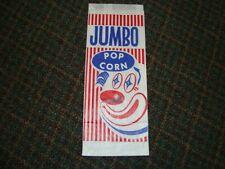 100 Jumbo Popcorn Bags Vintage