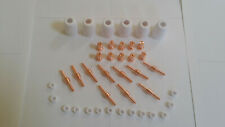 Suncoo Cut 50 Plasma Cutter Cutting Machine Consumables 40pcs Copper Extended