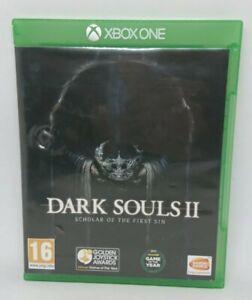 Dark Souls II 2 Scholar of the First Sin Xbox One. Free UK P&P.