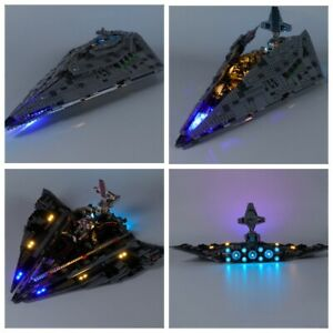 Led Light Kit For 75190 Star Wars First Order Star Destroyer Building Blocks